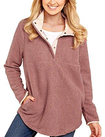 mauve pullover amazon