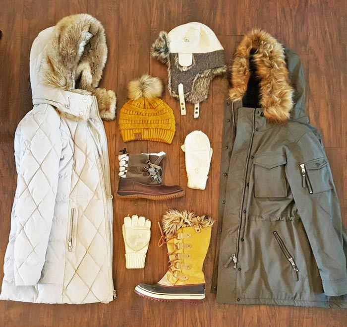My women's winter clothes essentials