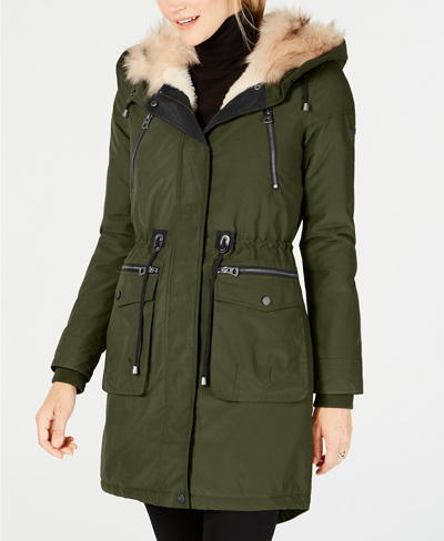 olive anorak lucky brand