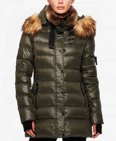 s13 double collar puffer coat macys