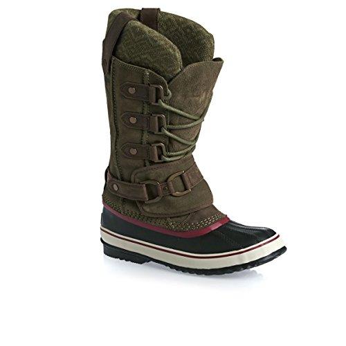 sorel joan of arctic olive premium snow boot