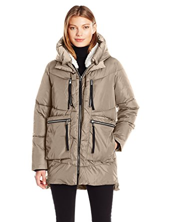 steve madden puffer coat amazon