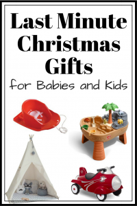 Last Minute Christmas Gifts for Babies and Kids 2017
