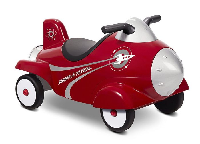 radio flyer retro rocket ride on | Last Minute Christmas Gifts for Babies and Kids
