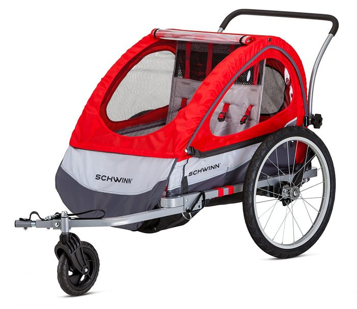 schwinn double stroller bike trailer | Last Minute Christmas Gifts for Babies and Kids