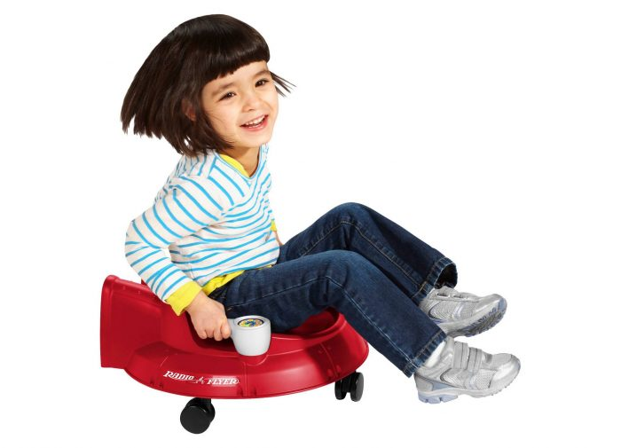 sit and spin saucer | Last Minute Christmas Gifts for Babies and Kids