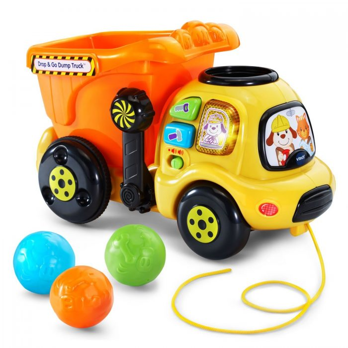 vtech drop and go dump truck | Last Minute Christmas Gifts for Babies and Kids