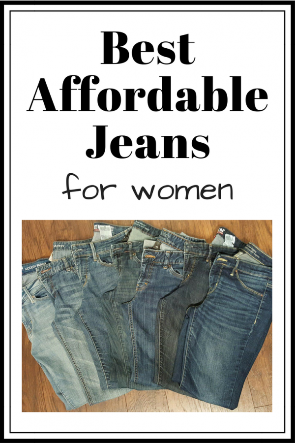 Best Affordable Jeans for Women