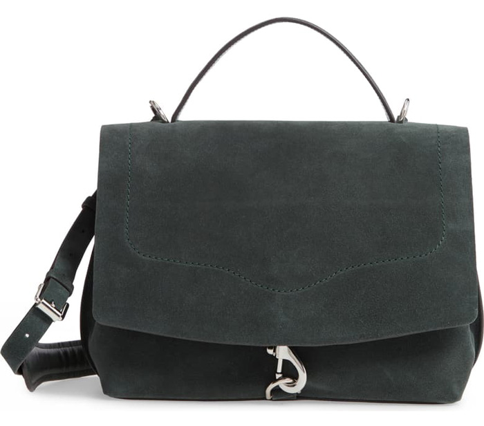 RM green satchel bag