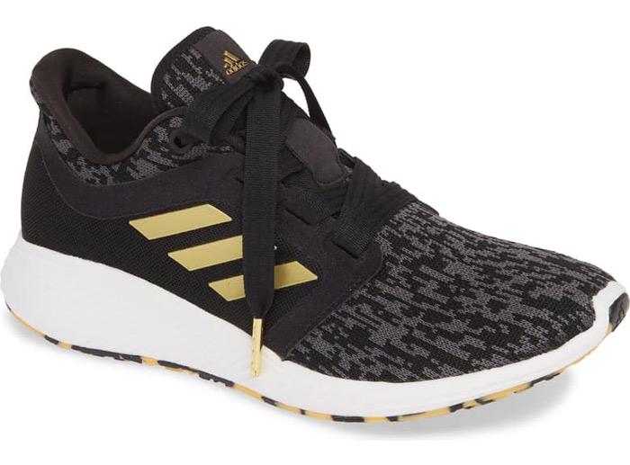 black adidas sneakers