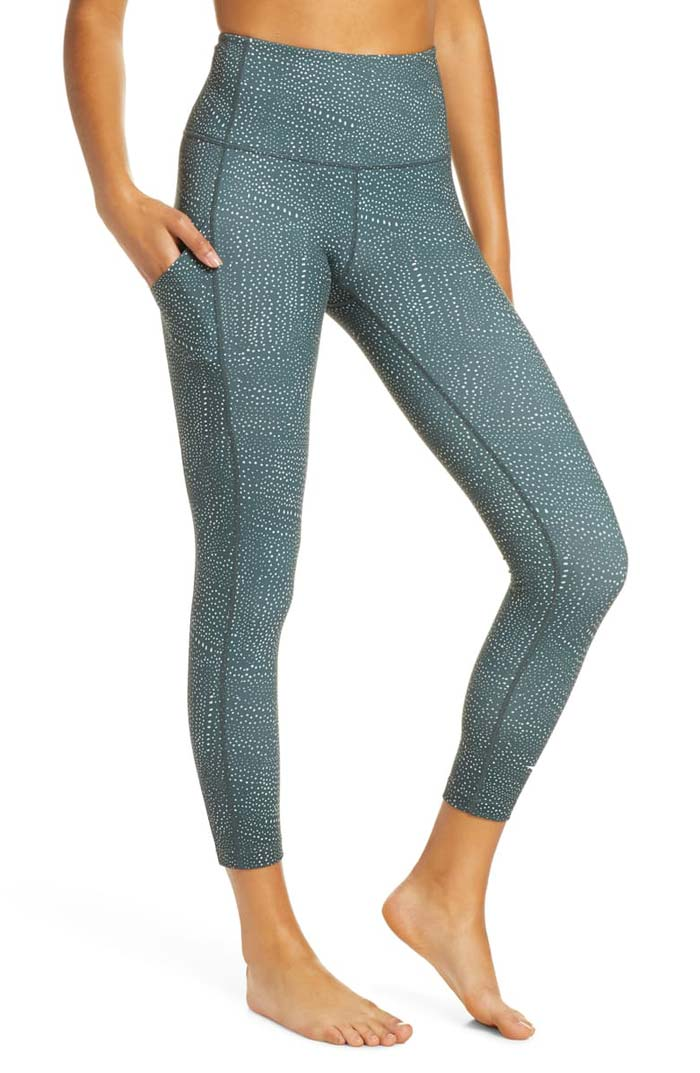 green zella legging