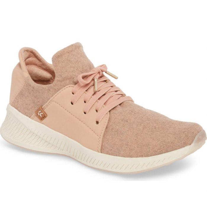 pink dr scholls sneaker