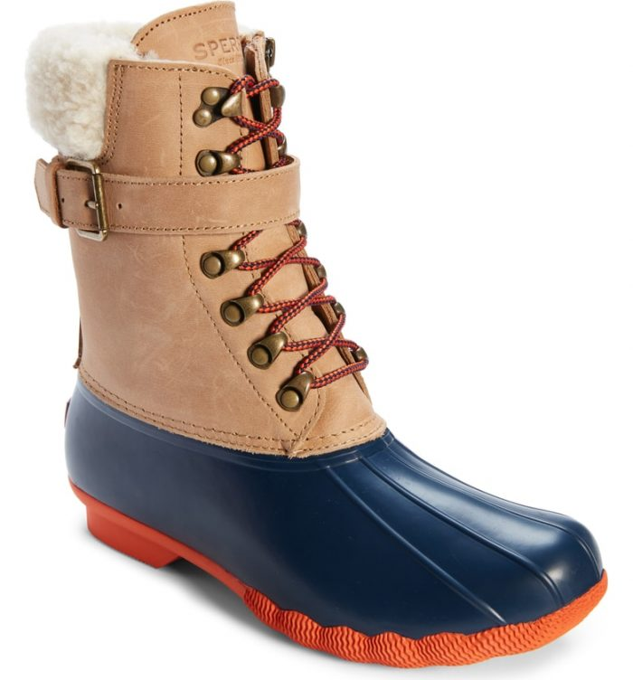 sperry shearwater boot