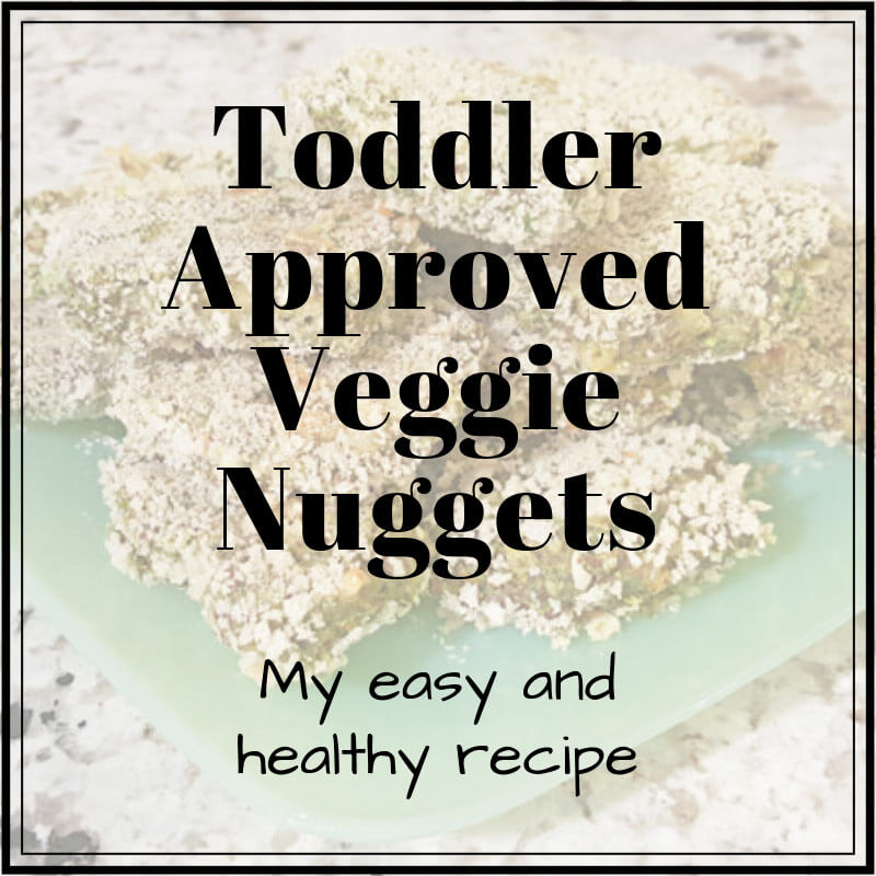 Toddler Veggies Nuggets recipe - how to get kids to eat vegetables