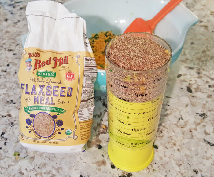 flax meal toddler veggies nugget