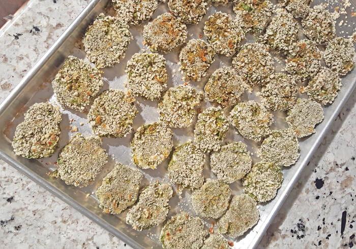 pan of toddler veggies nugget