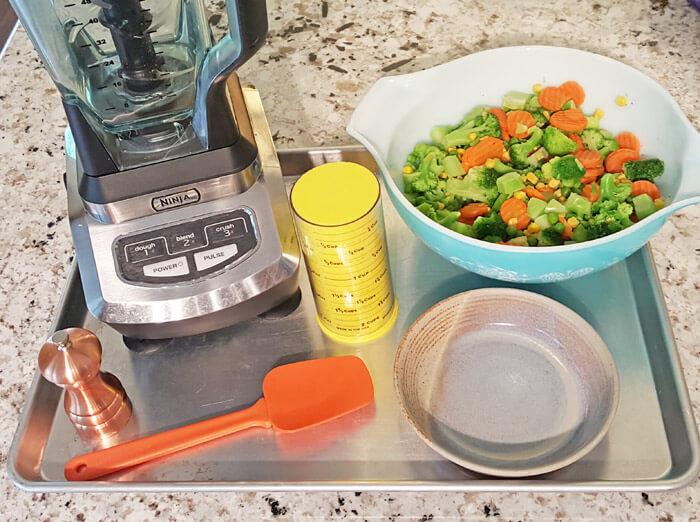 tools toddler veggies nugget