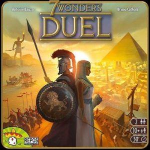 7 Wonders Duel | Fun Date Night Games: Best 2 Player Board Games