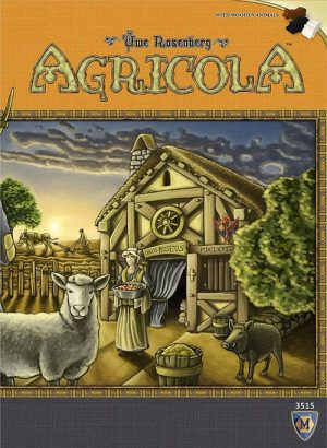 Agricola | Fun Date Night Games: Best 2 Player Board Games