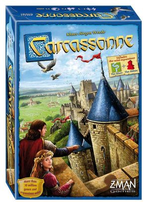 Carcassonne | Fun Date Night Games: Best 2 Player Board Games