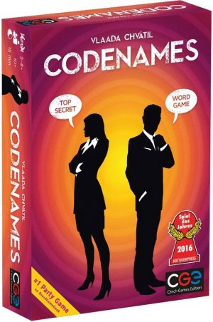 Codenames | Fun Date Night Games: Best 2 Player Board Games