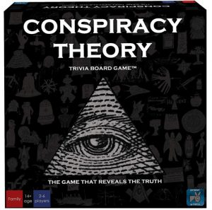 Conspiracy Theory | Fun Date Night Games: Best 2 Player Board Games