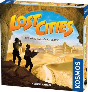 Lost Cities | Fun Date Night Games: Best 2 Player Board Games