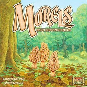 Morels | Fun Date Night Games: Best 2 Player Board Games