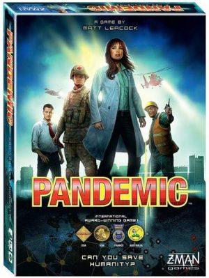 Pandemic | Fun Date Night Games: Best 2 Player Board Games