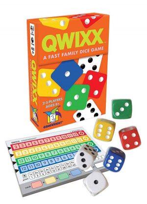 Quixx | Fun Date Night Games: Best 2 Player Board Games
