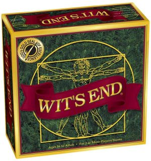 Wit's End | Fun Date Night Games: Best 2 Player Board Games