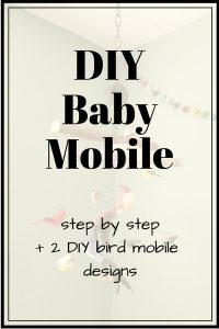 DIY Baby Mobile | How to Make a DIY Bird Mobile
