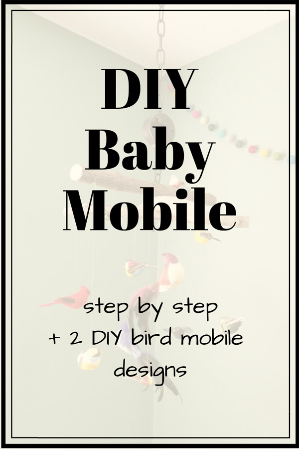 DIY baby mobile | DIY bird mobile