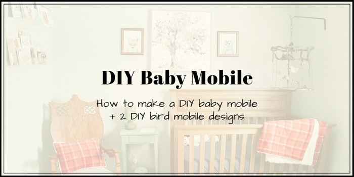 DIY baby mobile | DIY bird mobile