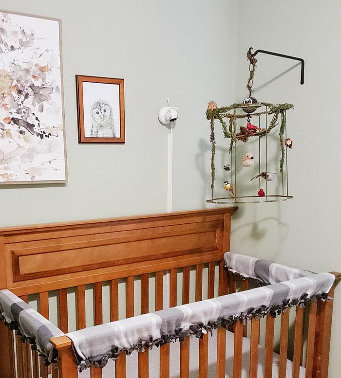 bird cage DIY baby mobile | DIY bird mobile
