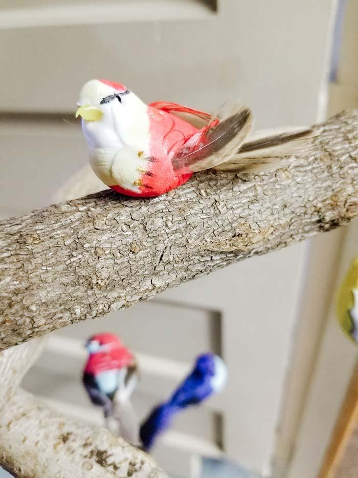 Glue on Bird | DIY Baby Mobile