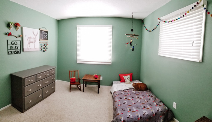 Toddler Room Ideas Diy Woodland Toddler Boys Room