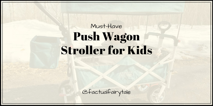 Push Wagon Stroller Collapsible wagon