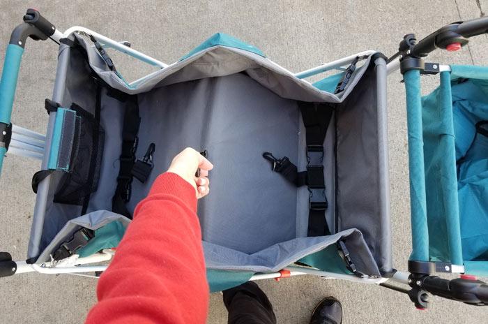 folding push wagon stroller | collapsible wagon