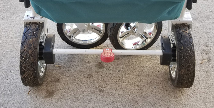 wheels brake push wagon stroller