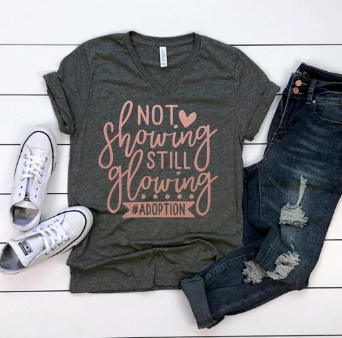 adoption mom shirt