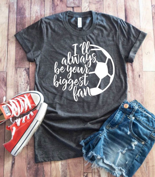 biggest fan mom shirts