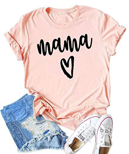 mama heart shirt