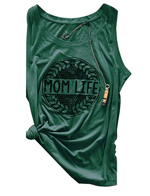 mom life shirt tank