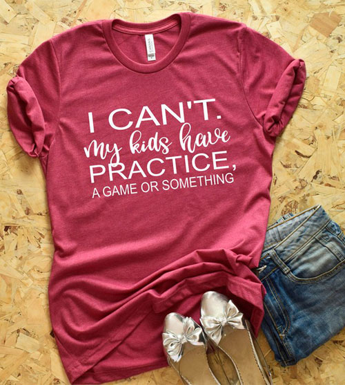 practice game something shorts mom shirt