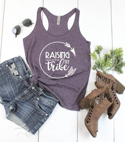 raising my tribe mom shirts