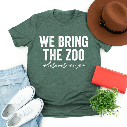we bring the zoo mom shirt