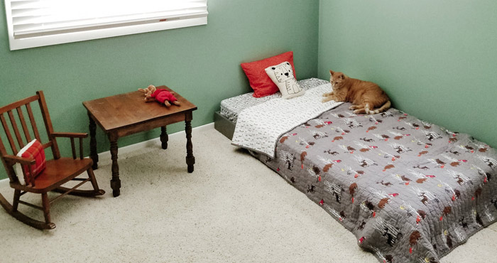 Diy Toddler Floor Bed Frame For Under
