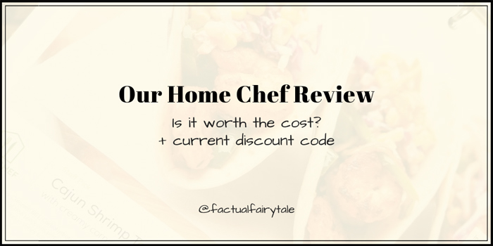Our Home Chef Reviews