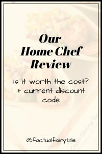 Our Home Chef Reviews + Home Chef Promo Code for 2020